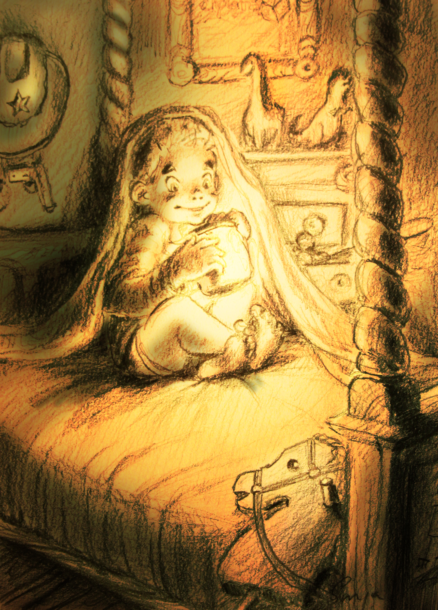 Illustratie voor Michiel ten Kleij